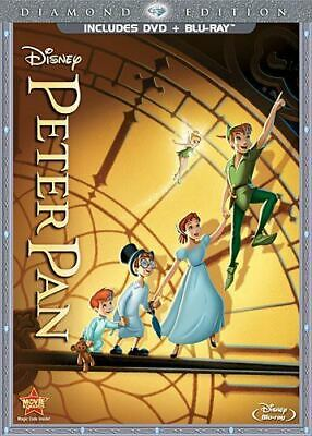 Peter Pan (Two-Disc Diamond Edition Blu-ray/DVD Combo in DVD Packaging)