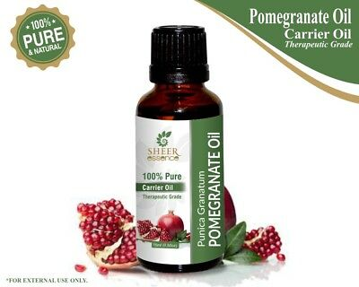 100% Natural Pure Carrier Oil 5ml To 1000ml Less Expensive Official Website Pomegranate Oil punica Granatum