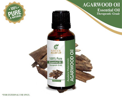 Agarwood OUD Essential Oil 100% Pure Natural (Aquilaria malaccensis ) Frangnance