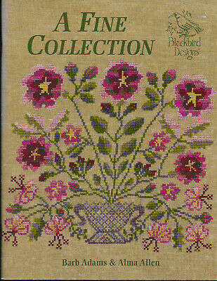 Blackbird Designs A Fine Collection Cross Stitch Charts Book Monthly Charts
