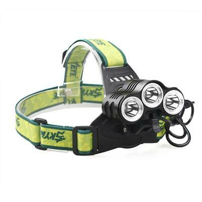 80000LM T6 LED 3 Modes Rechargeable Headlamp Flashlight Headtorch for Bike light