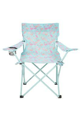 Mountain Warehouse Folding Chairs Lightweight Designed in Steel and Polyester