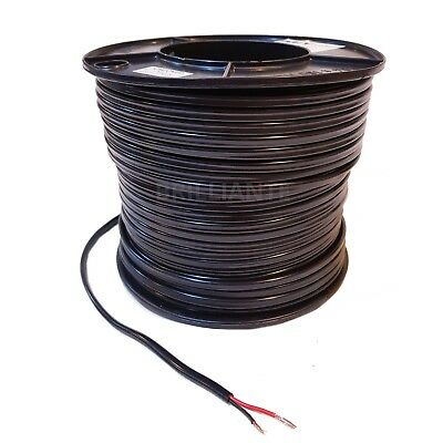 TWIN CORE 4mm 100M WIRE CABLE 22A SAA CARAVAN TRAILER AUTOMOTIVE 12V SHEATH