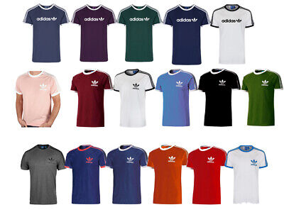 ADIDAS CALIFORNIA Essential Crew/Round Neck Short Sleeves T-shirts TEES For Men