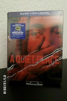 A Quiet Place Blu Ray Steelbook