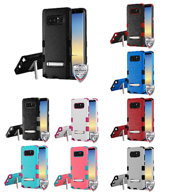 For Samsung Galaxy Note 8 TUFF Hybrid Impact Protector Cover w/Magnetic Stand
