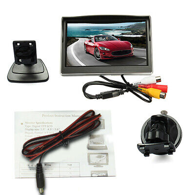 800*480 TFT 5 inch LCD HD Screen Monitor for Car Rear View Reverse Backup Camera