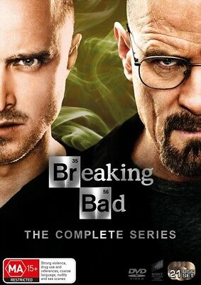 BREAKING BAD The Complete Series : Seasons 1-6/Final : NEW DVD