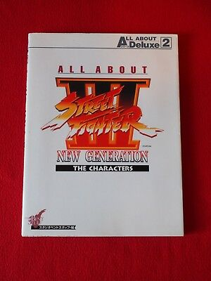 All about street fighter 3 new generation - The characters - BOOK