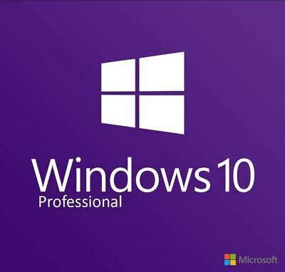 Windows 10 Pro Key Professional 32/64 Bit Product Original License Multilanguage