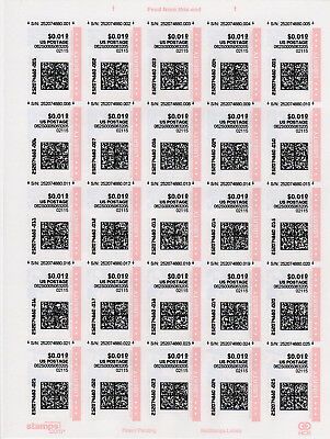 USA ATM CVP Frama: SendPro Internet stamps: small collection
