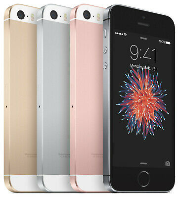 Apple iPhone SE 16GB 32GB 64GB 128GB GSM Unlocked (AT&T / T-Mobile) Smartphone
