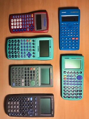 Texas Instrument Ti-82 + Casio Graph 25 Plus + Casio 35 Plus 64 Ko +6 Calculette