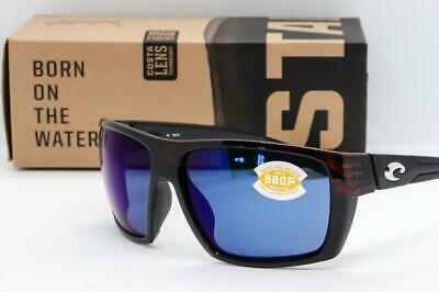 ea9aba4408 NEW COSTA DEL MAR HAMLIN SUNGLASSES Tortoise   Blue Mirror 580P Polarized  lens