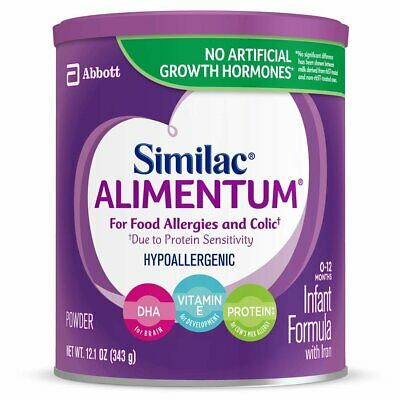 Similac Alimentum Hypoallergenic Infant Formula for Food Allergies and Colic,...