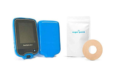 Abbott Freestyle Libre Case & My Sugar Patch Sensor Adhesive - Combination Deal!