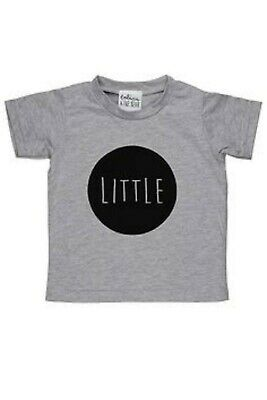Tobias And The Bear Baby Kids Children Grey Little Top Brand New RRP £16