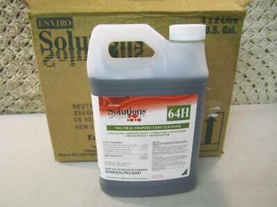 Case Of 4 Enviro Solutions 64H Neutral Disinfectant Cleaner