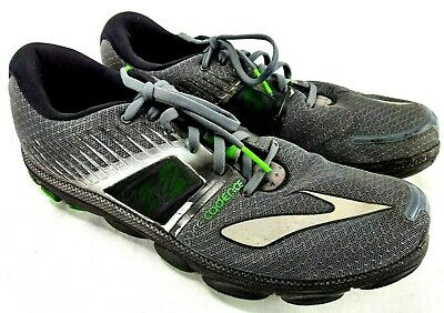 9256a6b8d99 Brooks Pure Cadence 4 Men Sz 11.5 Gray Running Training Sneaker 100-17