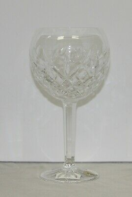 "NIB Waterford Crystal PALLAS Water / Wine Goblet 8"" Tall"