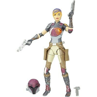 Star Wars The Black Series Sabine Wren #33 In Stock! Ships LOOSE!