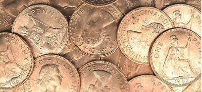 Great Britain 50 Pieces 1967 Uncirculated Penny, Km #897