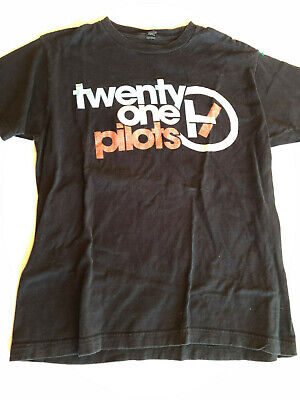 Twenty One Pilots Regional at Best Band T Shirt Size Medium Crew Neck Black