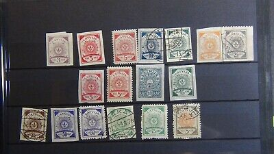 Latvia stamp collection on stock/glassine w/ 283 or so stamps