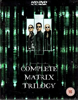 The Matrix Trilogy (HD DVD) - Free Postage - EU Seller