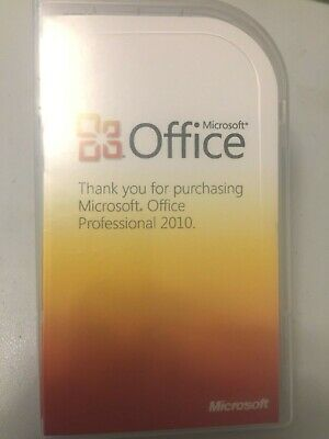 Microsoft Office 2010 Professional Product Key Card (PKC) MS Pro