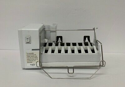 FRIGIDAIRE ICE MAKER embly w/ Wire Harness & Deflector ... on