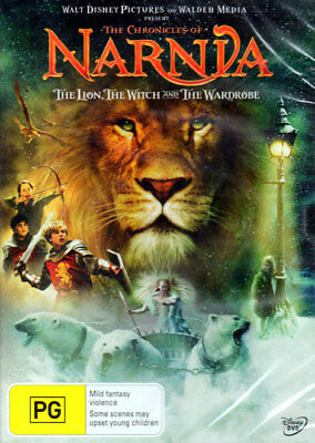 The Chronicles Of Narnia 'The Lion The Witch And The Wardrobe'- New & Sealed DVD