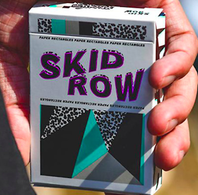 Limited Edition Skid Row Playing Cards by Toomas Pintson - LIMITED