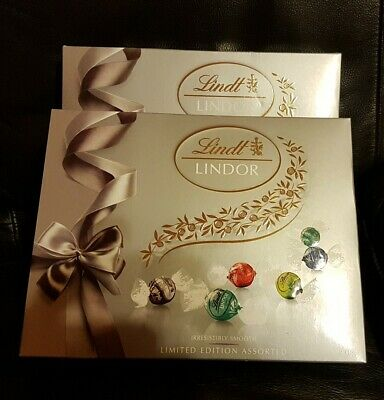 2 Boxes of Lindt Limited Edition Assorted chocolate