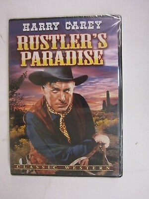 HARRY CAREY - Rustlers Paradise (DVD, 2010)  BRAND NEW   FACTORY SEALED  FREE SH