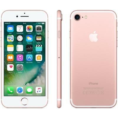 Apple Iphone 7 128Gb Rose Gold Rosa Garanzia 12 Mesi Nuovo Sigillato