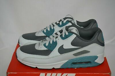 outlet store 5416c f08f5 NIKE AIR MAX 90 Essential Mens 537384-086 Noise Aqua Grey Running Shoes  Size 7.5