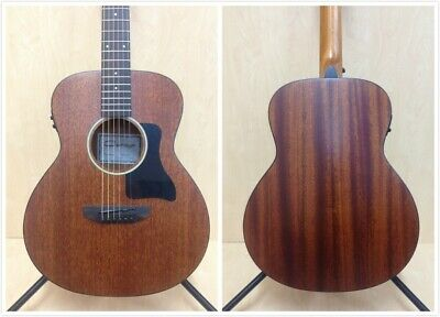 "37"" Caraya All Mahogany Traveler Electric-Acoustic Guitar w/EQ,Arched-Back+Bag"