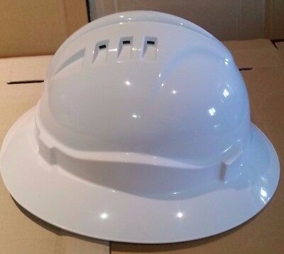 Wide Brim Hard Hat Tested & Certified to Australian Standards | HHV6FB-W