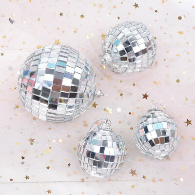 5 6 8 cm Mirror Glass Disco Ball DJ Dance Home Party Bands Club Stage Light New