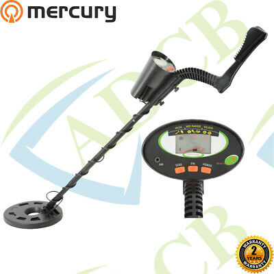 Mercury Advanced Metal Detector with LCD Display Finds iron, mid range or silver