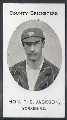 Taddy-County Cricketers Cricket 1907- Yorkshire - Jackson