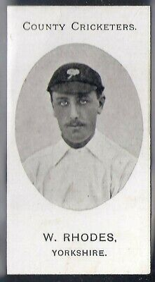 Taddy-County Cricketers Cricket 1907- Yorkshire - Rhodes