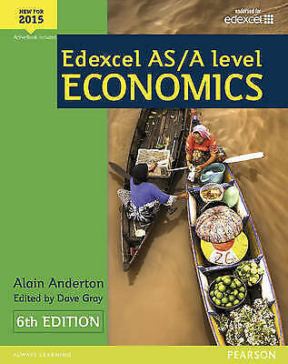 Edexcel AS/A Level Economics Student book + Active Book by Alain Anderton,...