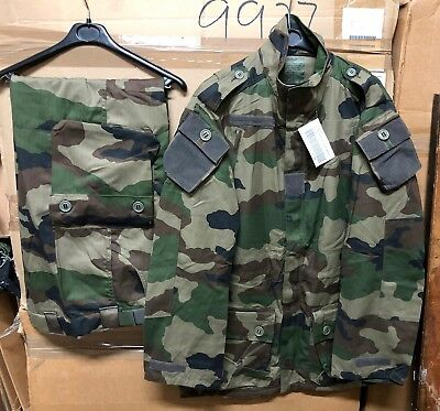 674556a299605 GENUINE FRENCH ARMY Felin T4 S2 Cce Camo Set Jacket + Pants New ...