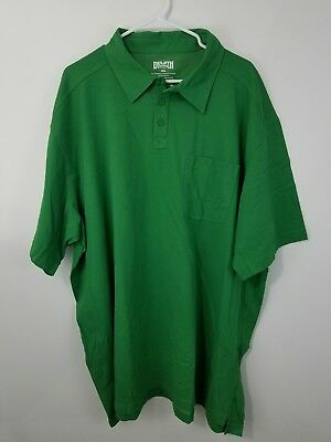 Duluth Trading Company Mens Longtail CoolMax Short Sleeve  Polo Shirt 3xl