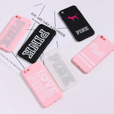 PINK Victoria Secret Cover Case for iPhone 6 6S 7 8 plus X XS XSmax XR