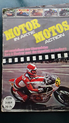 Album  Moto 1976  242 Images Complet Motocross Corses Sur Routes   Editions Age