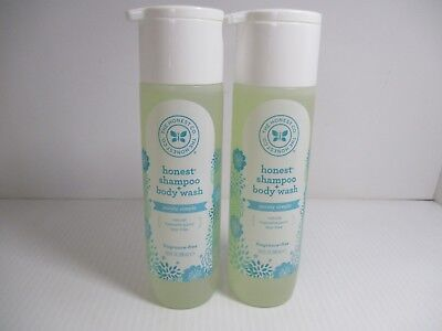 2 The Honest Co Shampoo+Body Wash  Purely Simple 10 Oz Ea Jl 7805