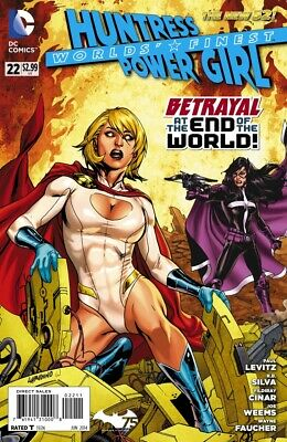 Worlds Finest #22 The New 52 Power Girl Huntress
